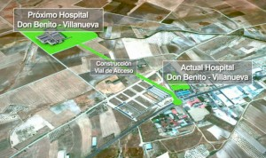El Hospital de Don Benito-Villanueva se construirá en su enclave inicial