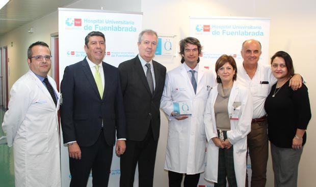 El Hospital de Fuenlabrada recibe la Acreditación QH+ 2 estrellas del IDIS