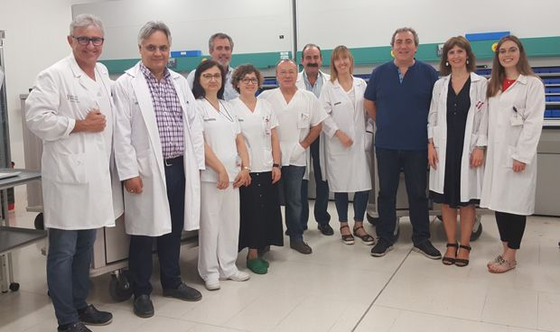 El hospital de Gandía, primero en mecanizar la prescripción de fármacos