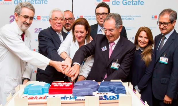 El Hospital de Getafe sopla 25 velas con la vista puesta en Europa