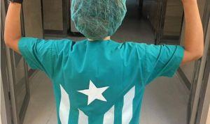 El Hospital de Granollers no sanciona a la sanitaria del pijama 'indepe'