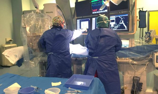 El Hospital de La Ribera incorpora la Embolización Arterial Rectal