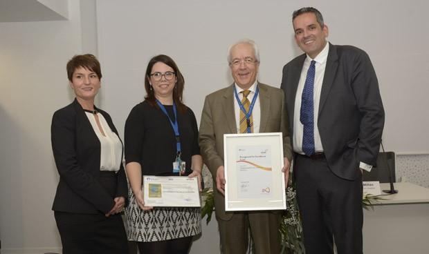 El Hospital de Manises recibe el Sello de Excelencia EFQM 500+