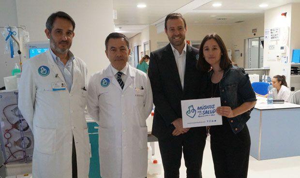 El Hospital de Manises se suma a la iniciativa de Músicos por la Salud