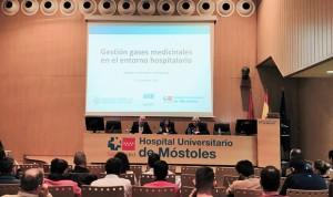 El Hospital de Móstoles acoge una jornada sobre gases medicinales