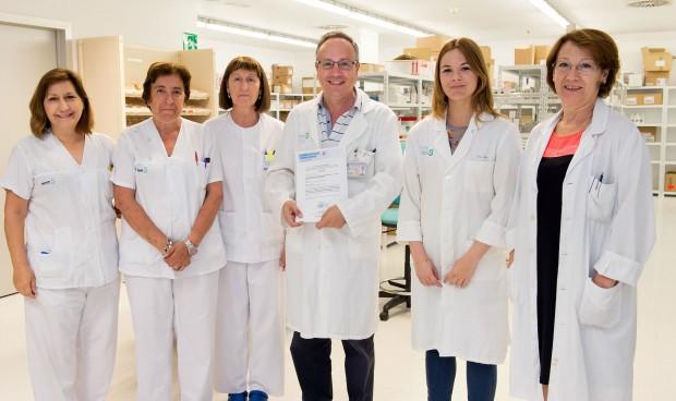 El Hospital de Parapéjicos, premiado por su gestión de la farmacia