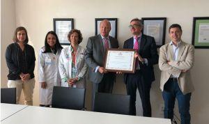 El Hospital de Villalba, reconocido por su estrategia en seguridad laboral