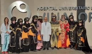 El Hospital de Vinalopó recibe la visita de los Reyes Magos