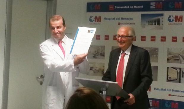 El Hospital del Henares recertifica su farmacia hospitalaria