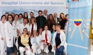 El Hospital del Sureste colabora con el proyecto 'Medicina para Venezuela'
