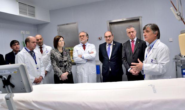 El Hospital Galdakao-Usansolo estrena una nueva sala de Hemodinámica