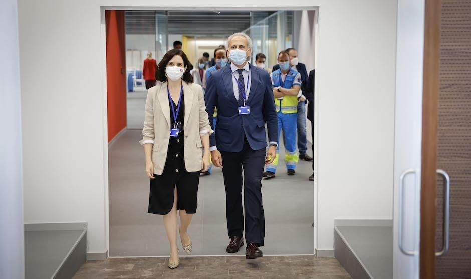El Hospital Isabel Zendal vacunará las 24 horas del día a partir del lunes