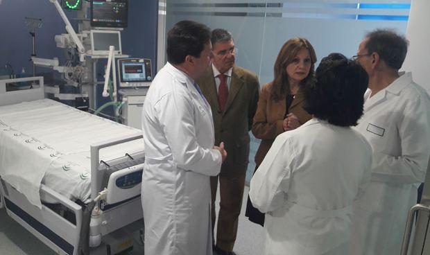 El hospital Puerta del Mar finaliza la primera fase de ampliación de su UCI