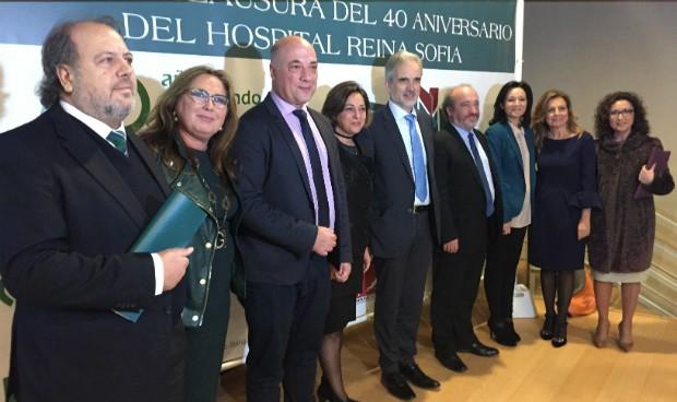 El Hospital Reina Sofía clausura la conmemoración del 40 aniversario