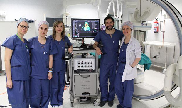 El Hospital Rey Juan Carlos adquiere el navegador cardiaco más avanzado