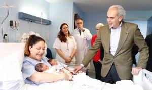 El Hospital Severo Ochoa estrena nueva área de Maternidad