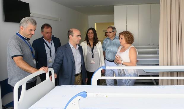El Hospital Sur de Tenerife abre sus primeras 46 camas de hospitalización