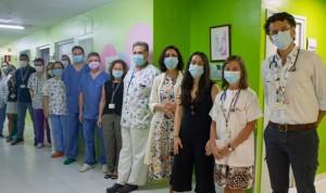 El Hospital Virgen del Rocío realiza 10 trasplantes infantiles en un mes