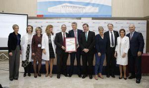 El Infanta Elena celebra sus 10 años recogiendo el premio EFQM