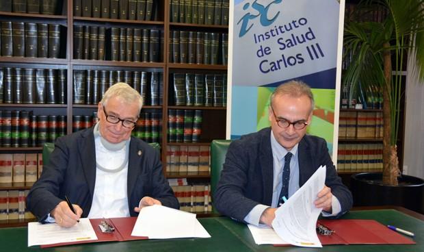 El ISCIII pacta divulgar la ELA y fomentar su investigación