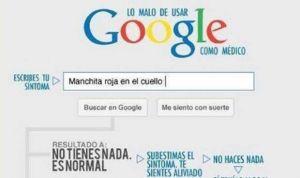 """El mejor consejo de 'doctor Google': """"Ve al puto médico desde el principio"""""""