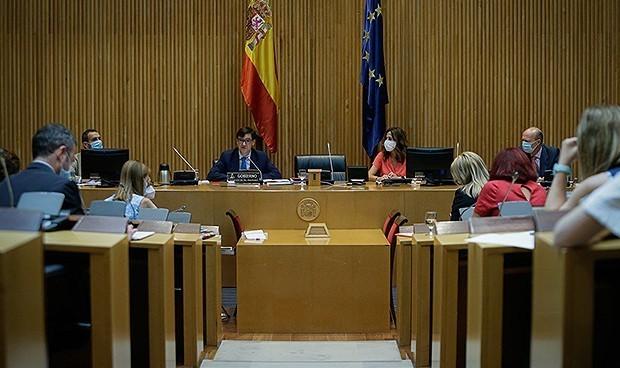 El MIR 'se cuela' en una Comisión de Sanidad casi exclusiva de Covid