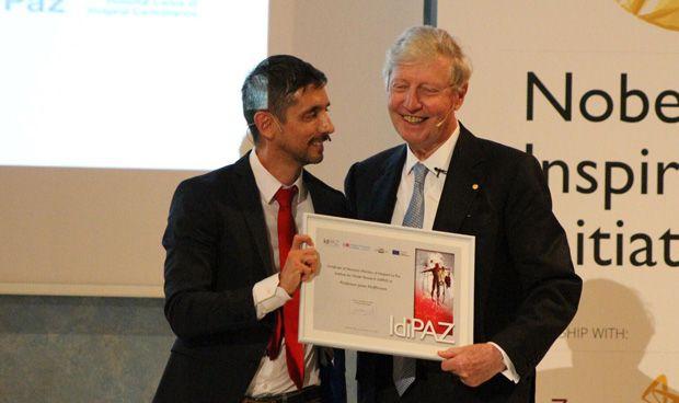 El Nobel de Medicina Jules A. Hoffmann, miembro de honor de IdiPaz