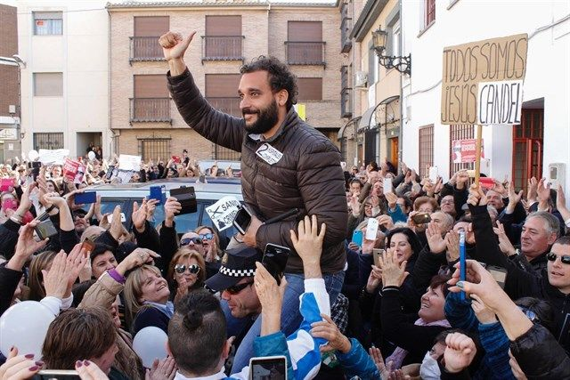 El número 2 de Podemos en Granada compara a Spiriman con Franco
