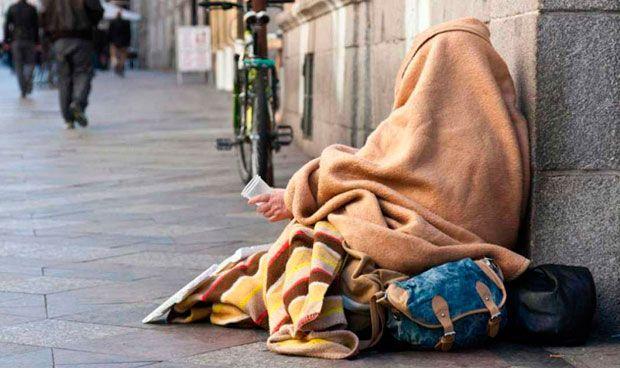 El número de 'sin techo' que precisa atención sanitaria se dobla en un año