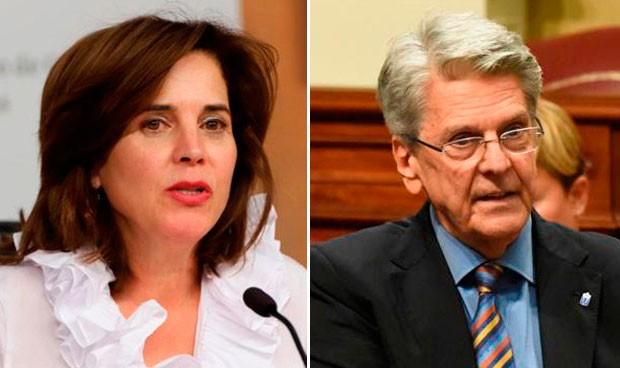 El presidente de Canarias destituye a su consejera de Sanidad, Teresa Cruz