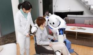 Crean un robot 'enfermero' que actúa como guía del paciente en el hospital