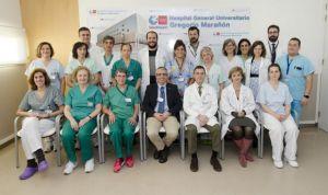 El programa de trasplantes del Marañón, Medalla de Plata de la comunidad