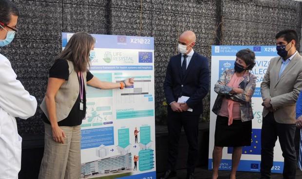 El programa europeo de eficiencia energética incluye 3 hospitales gallegos