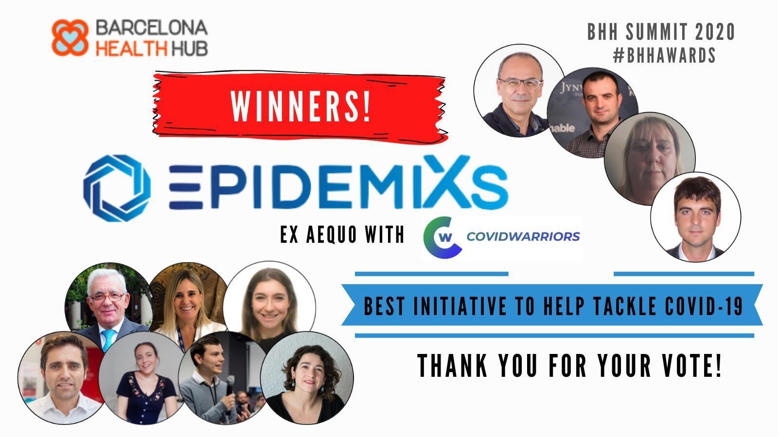 El proyecto colaborativo Epidemix, ganador de los BHH Awards