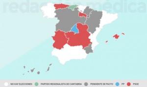 El PSOE vence pero hasta 5 CCAA dejan su sanidad pendiente de los pactos