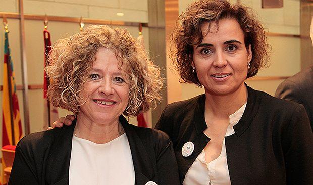 El recado 'feminista' de Montserrat a los representantes sanitarios