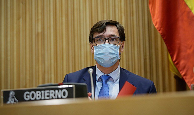 El recuerdo de Illa para los MIR en la Comisión de Sanidad