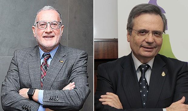 """El reencuentro del """"discípulo y el maestro"""" en el Congreso"""