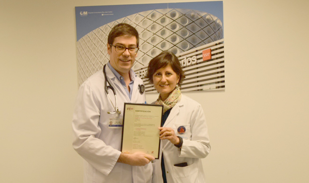 El Rey Juan Carlos, tercer hospital madrileño con sello 'CAT' de calidad