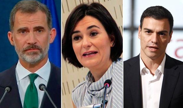 El Rey ratifica a Carmen Montón como nueva ministra de Sanidad