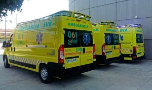 El Salud pone en marcha su nuevo servicio de transporte sanitario urgente