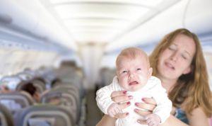 El sistema 'antiberrinches' del futuro para los bebés en aviones