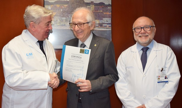 El sistema de gestión del Príncipe de Asturias, certificado con la ISO 9001