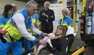 El Summa incorpora el piel con piel en las ambulancias