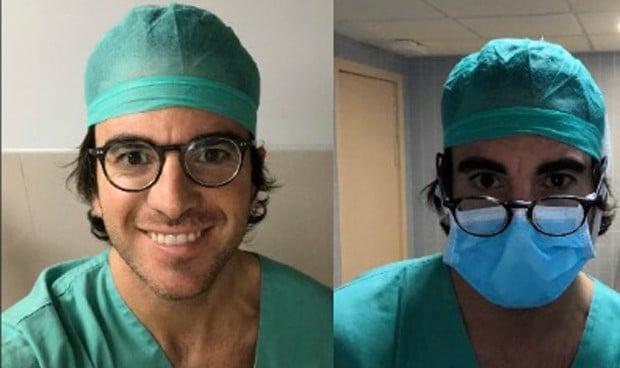 El truco 'made in Valencia' para que no se resbalen las gafas en quirófano