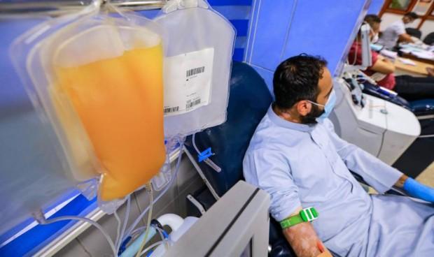 El uso de plasma convaleciente reduce un 50% la mortalidad por Covid