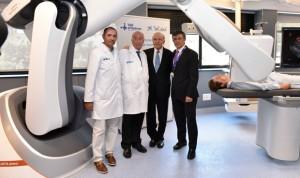El Vall d'Hebron tiene el primer robot radiológico del mundo en endoscopia