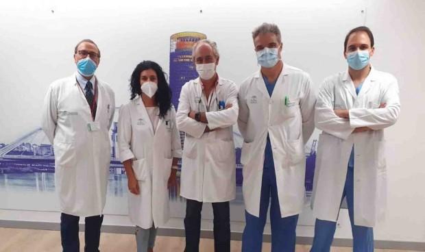 El Virgen Macarena realiza su primera extirpación por laparoscopia
