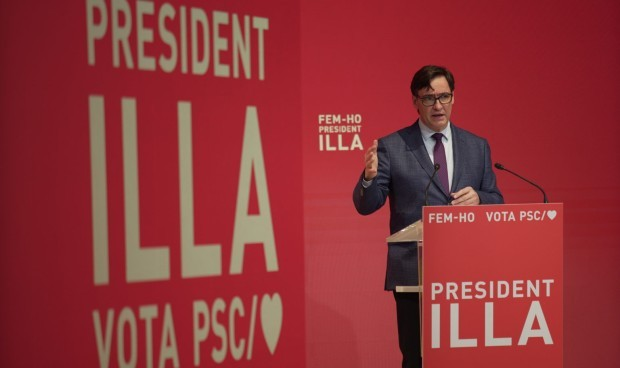 Elecciones catalanas CIS: Illa mantiene la ventaja del PSC sobre ERC