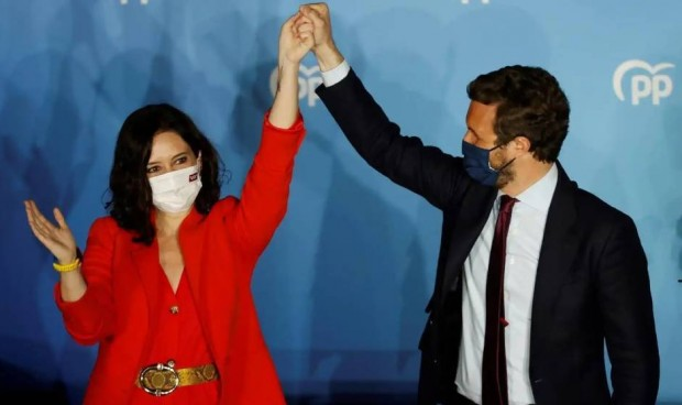 La gestión de la pandemia Covid-19 da la victoria al PP de Ayuso en Madrid